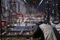 Fabriek 5 Stock Fotografie