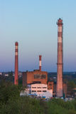 Fabriek, bedrijf Royalty-vrije Stock Foto