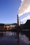 Fabriek bij het verrijken van ijzersteen Royalty-vrije Stock Afbeelding