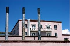 Fabriek in Fe van de Kerstman, NM Stock Afbeelding