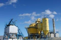 Fabriek, industrieel schot. royalty-vrije stock afbeelding