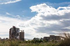 Fabriek in Sagunto Stock Fotografie