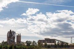 Fabriek in Sagunto Stock Afbeeldingen