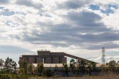 Fabriek in Sagunto Stock Foto