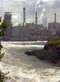 Fabriek in St. John Stock Foto's