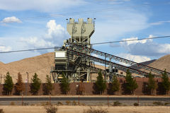 Fabriek in westelijke Verenigde Staten Royalty-vrije Stock Foto's