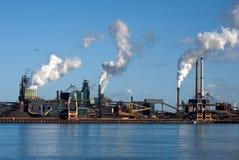 Fabrieken in Amsterdam Royalty-vrije Stock Afbeelding