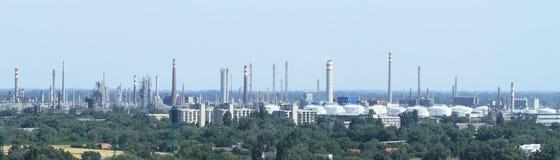 Fabrieken in Bratislava Stock Afbeeldingen