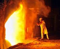 Fabrieksarbeider royalty-vrije stock afbeeldingen