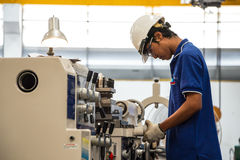 Fabrieksarbeider Royalty-vrije Stock Afbeelding