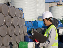 Fabrieksarbeider Royalty-vrije Stock Fotografie