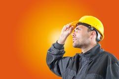 Fabrieksarbeider Stock Foto