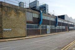 Fabriekseenheid Orwellstraat, Grimsby, Lincolnshire, het UK royalty-vrije stock foto