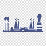 Fabriekspictogram Stock Foto