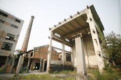 Fabrieksruïnes Stock Afbeeldingen