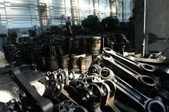 fabrik Royaltyfria Bilder