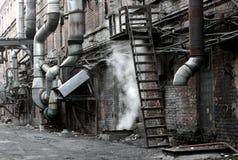 Fabrik. Lizenzfreie Stockfotos
