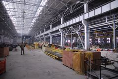 fabrik 4 arkivfoton