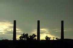 Fabrik Stockfoto
