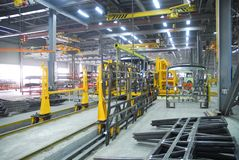 Fabrik 9 stockfoto