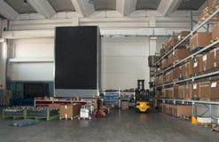 Fabrik: automatisches Lager lizenzfreie stockfotos