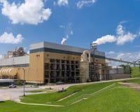 Fabrik bei der Arbeit Stockfoto