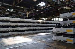 Fabrik der Hinterachse Stockbild