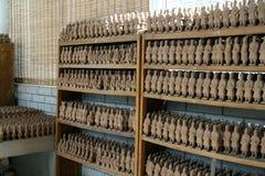 Fabrik der Lehmkrieger im Porzellan Lizenzfreies Stockfoto