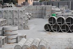 fabrik för betong 4 arkivfoton
