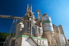 Fabrik för calcic Royaltyfri Foto