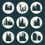 Fabrik för fabriks- produkter Royaltyfri Illustrationer