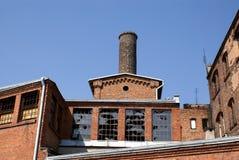 fabrik gammala torun Arkivfoton