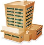 Fabrik-Gebäude Lizenzfreie Stockfotografie