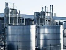 Fabrik-Hinterhof lizenzfreies stockbild