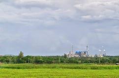 Fabrik i Khonkaen Arkivbilder