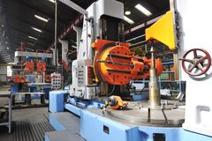 Fabrik Innen Lizenzfreies Stockfoto