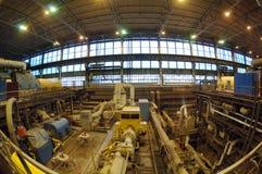 Fabrik mit der Ausrüstung zum zu produzieren Stockbild