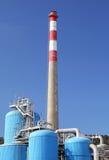Fabrik Mondi in der Stadt Ruzomberok, Slowakei Stockfotos