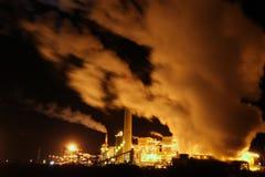 Fabrik in New-Mexiko stockbild