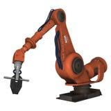 Fabrik-Roboter Stockfotografie