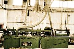 fabrik som behandlar trä Royaltyfri Foto