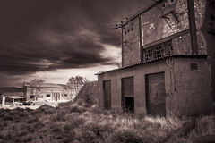 Fabrik verlassen Stockfotos