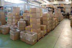 Fabrik wharehouse Lizenzfreie Stockfotografie