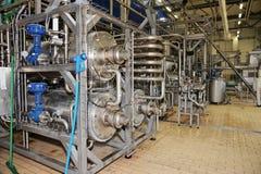 Fabrik zur Weiterverarbeitung von Lebensmitteln Lizenzfreie Stockbilder