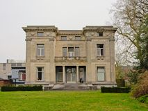 `Fabrikantenvilla` or manufacturers villa in Enschede. Posh neo-classical `Fabrikantenvilla` or manufacturers villa in Enschede, the Netherlands. the former home Royalty Free Stock Images
