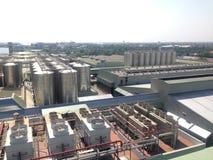 Fabrikbrauerei-Bierbau Stockbild