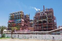 Fabriken des Toten Meers Lizenzfreie Stockfotos