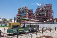 Fabriken des Toten Meers Lizenzfreies Stockfoto
