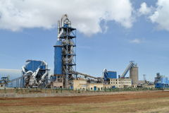 Fabriken und Industrie in Äthiopien Lizenzfreies Stockbild