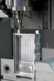 Fabrikformteilmaschine Stockbilder